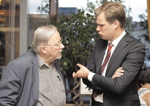 Vytautas ir Gabrielius Landsbegiai