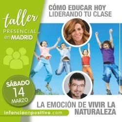 Taller de Disciplina Positiva de aula en Madrid