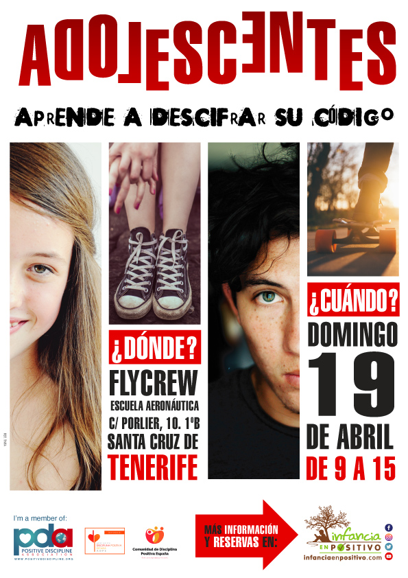 Taller de disciplina positiva de adolescentes en Tenerife