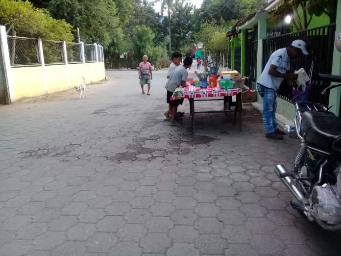 Tienda ambulante Magdalena