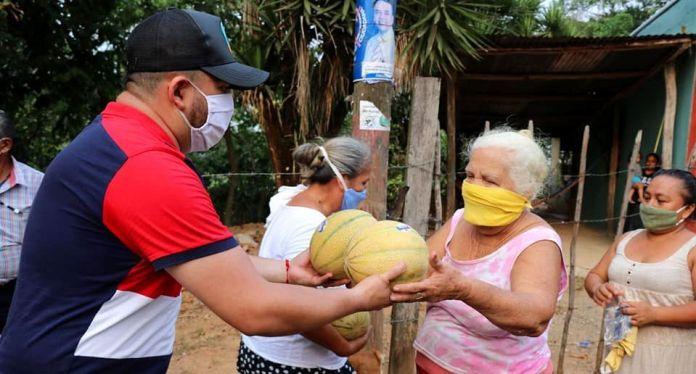 Melones en Morales