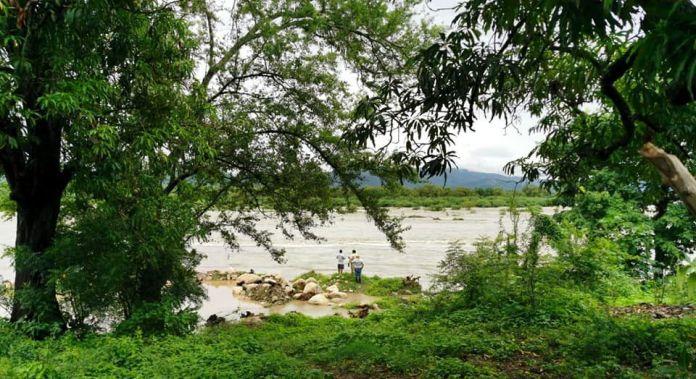 Río Motagua en Teculután