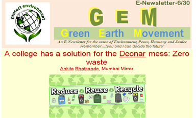 A college has a solution for the Deonar mess: Zero waste