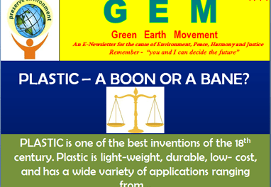 Gem-ppt-4 Plastic-boon or bane