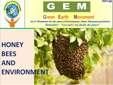 Gem ppt-36-bees and environment