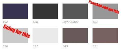 gray dye