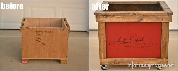 storage crate recycle