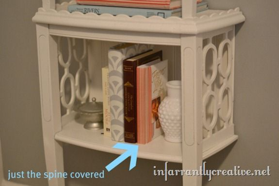 fabric spine book