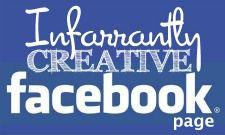 Infarrantly Creative FB Button