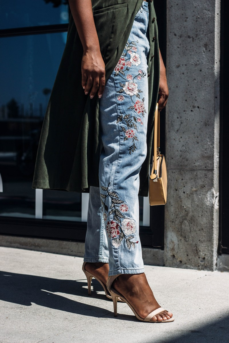 styling embroidery for fall