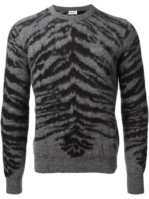 saint laurent mohair sweater