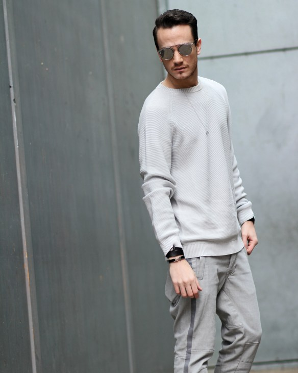 infashionity menswear fashion blog henri balit strellson casual sneakers dior so real
