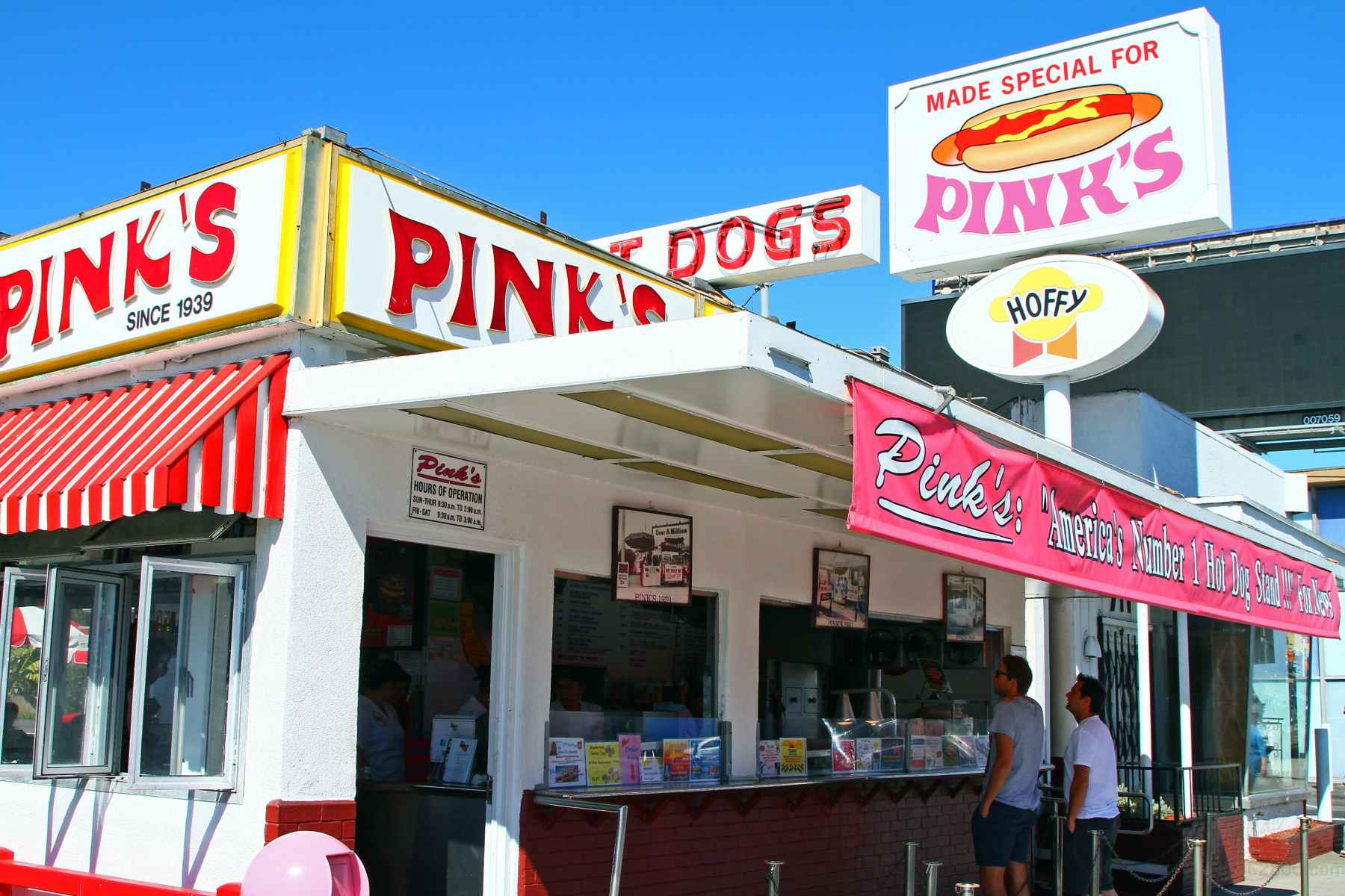 COVID-19 surge prompts temporary closure of famous Pink's Hot Dogs