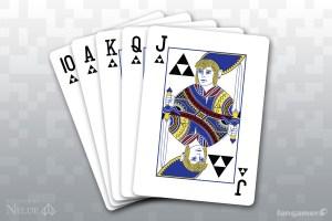 Zelda deck of cards
