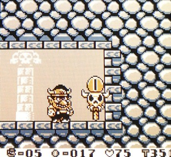 Wario Land - Mid-level Save Point