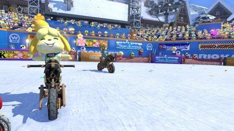 Mario Kart 8 DX Isabelle Winning