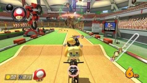 Mario Kart 8 DX Isabelle