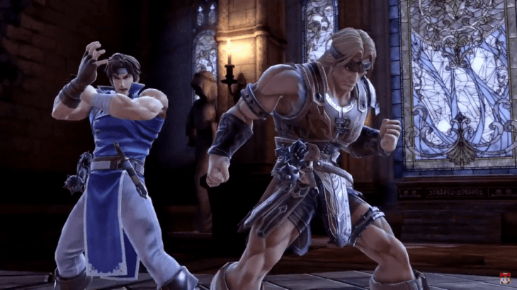 Richter Belmont and Simon Belmont Join Super Smash Bros Ultimate