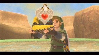 Skyward Sword Heart Containers