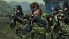 Snake und seine Unterstützungstruppen