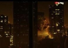 Eine Explosion erschüttert die Stadt