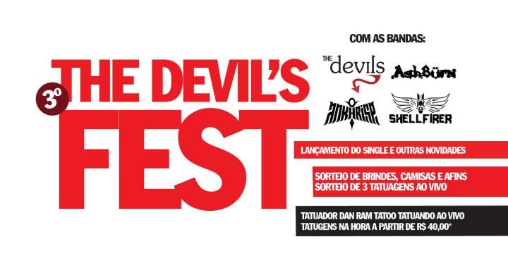 Muito heavy metal no 3º The Devil's Fest
