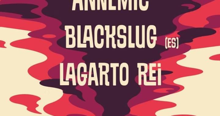 Blackslug confirma show no Rio de Janeiro com Lagarto Rei e Ann'emic