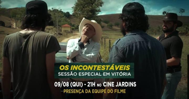 Os Incontestáveis ganha sessão especial com equipe do filme no Cine Jardins