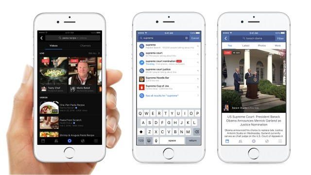 Facebook Video Discovery Hub