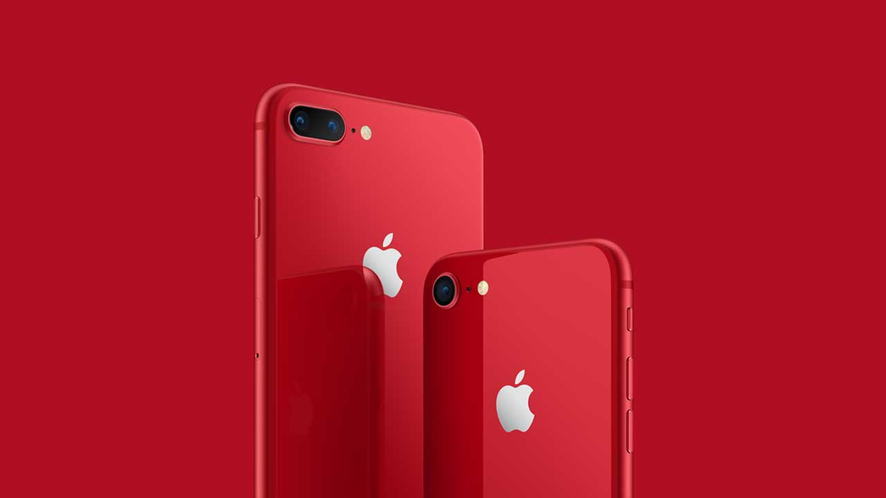 Apple unveils limited edition of Red iPhone to raise money for HIV