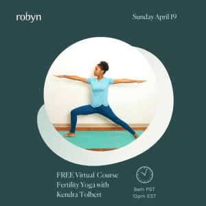 Mother Yourself with Virtual Fertility Yoga @ Virtual - Sign up on Eventbrite