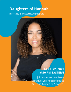 Infertility & Miscarriage Support for Black Women - Daughters of Hannah @ Zoom | Bentonville | Arkansas | United States