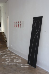 Installation view / Stevedore Knot (foreground)