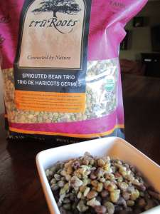 truRoots Sprouted Beans cooked