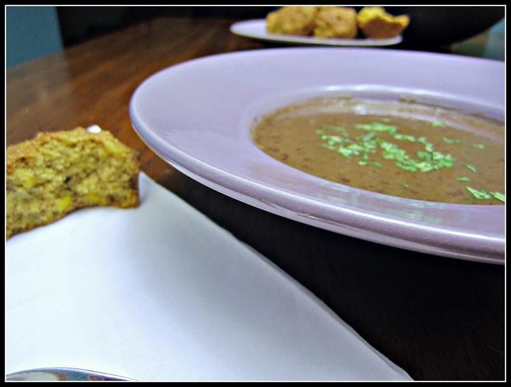 "Slow-Cooker Chipotle Black Bean Soup (a ""I painted the kitchen post"") vegan soup slow cooker kitchen crockpot chipotle black bean"