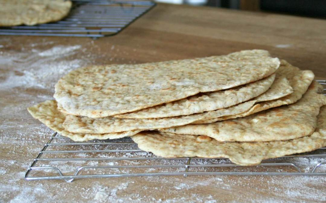Vegan Skillet flatbreads