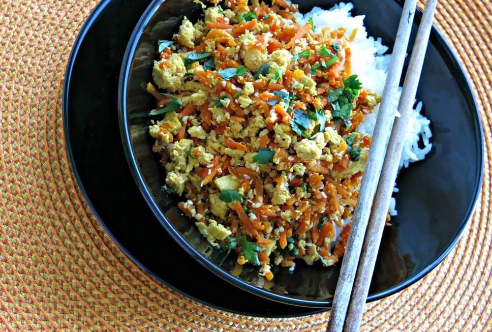 Supper Quick: Tofu and Carrot Toss