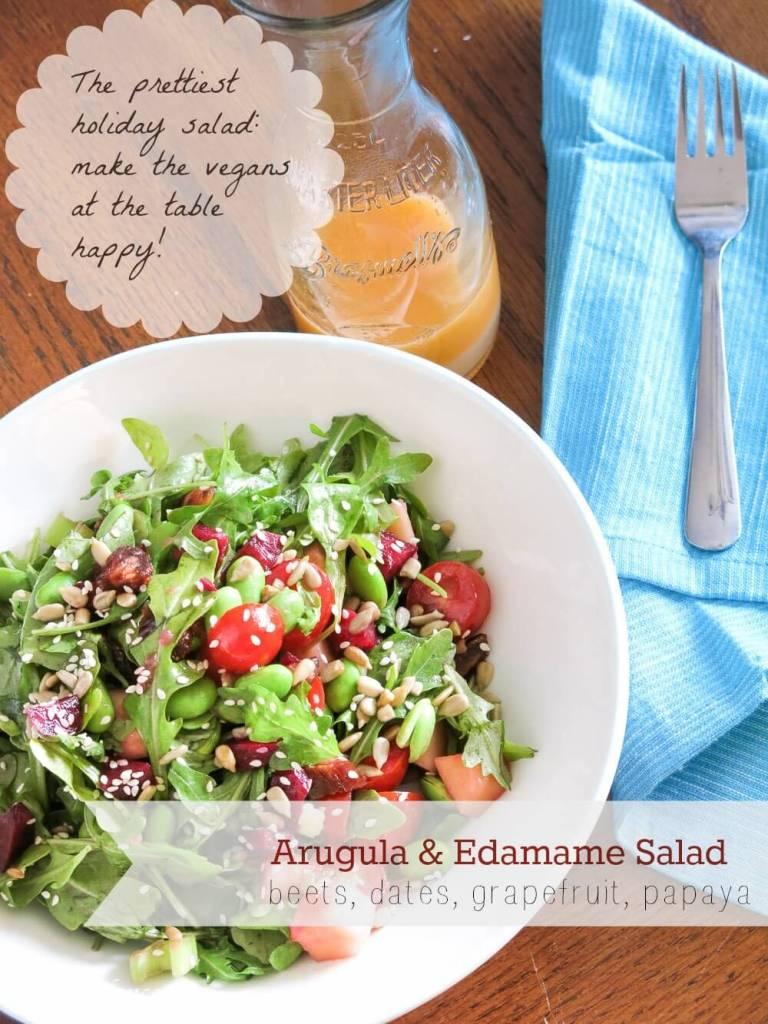 arugula and beet salad-txt