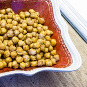 Toasted Chickpeas | Infinebalance.com