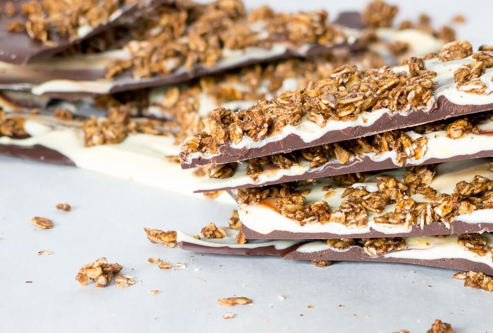 Love Crunch Gingerbread Crunch Bark