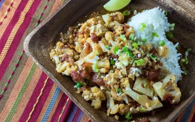 Cauliflower and Tofu Curry