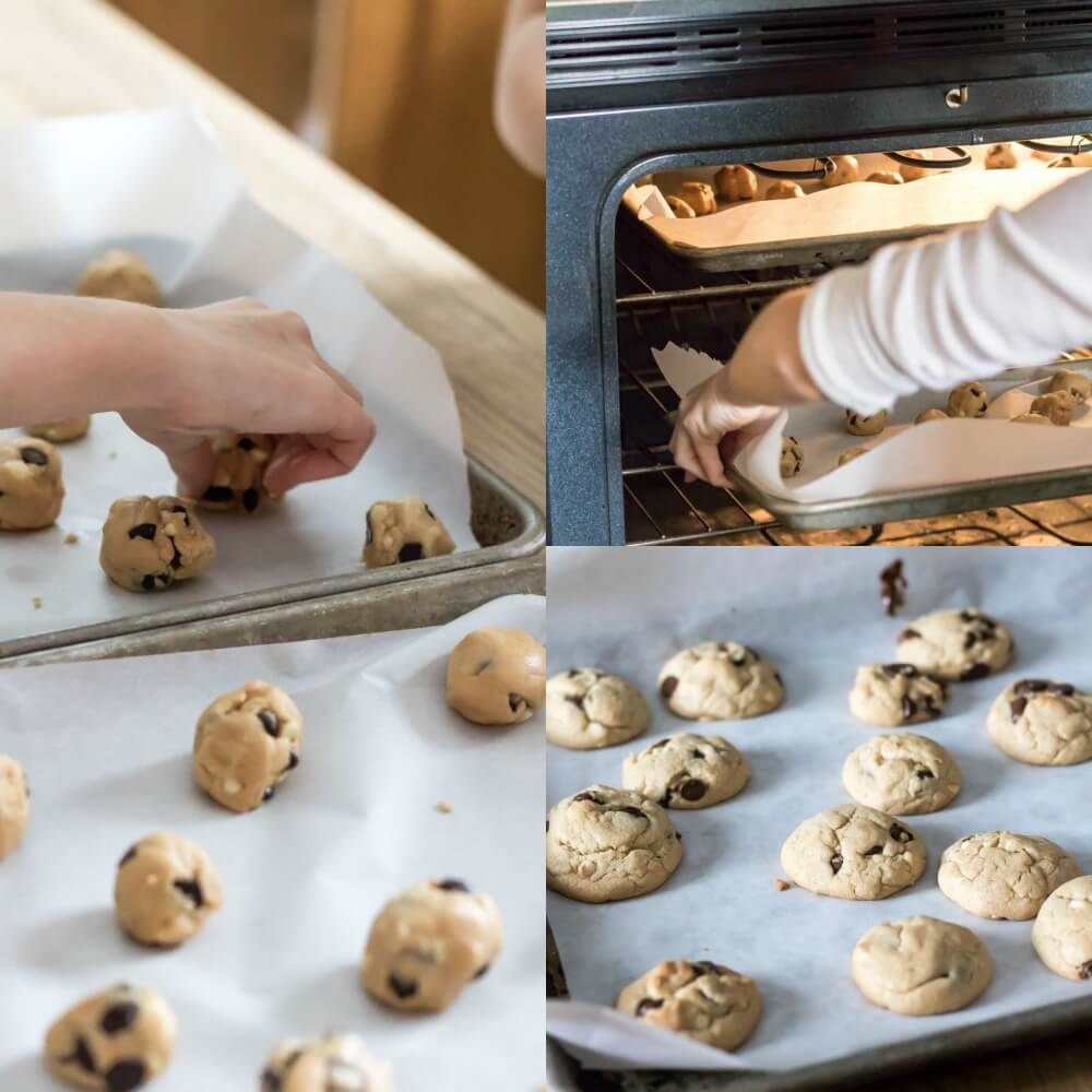 Peanut Butter Chocolate Chip Cookies | infinebalance.com #recipe