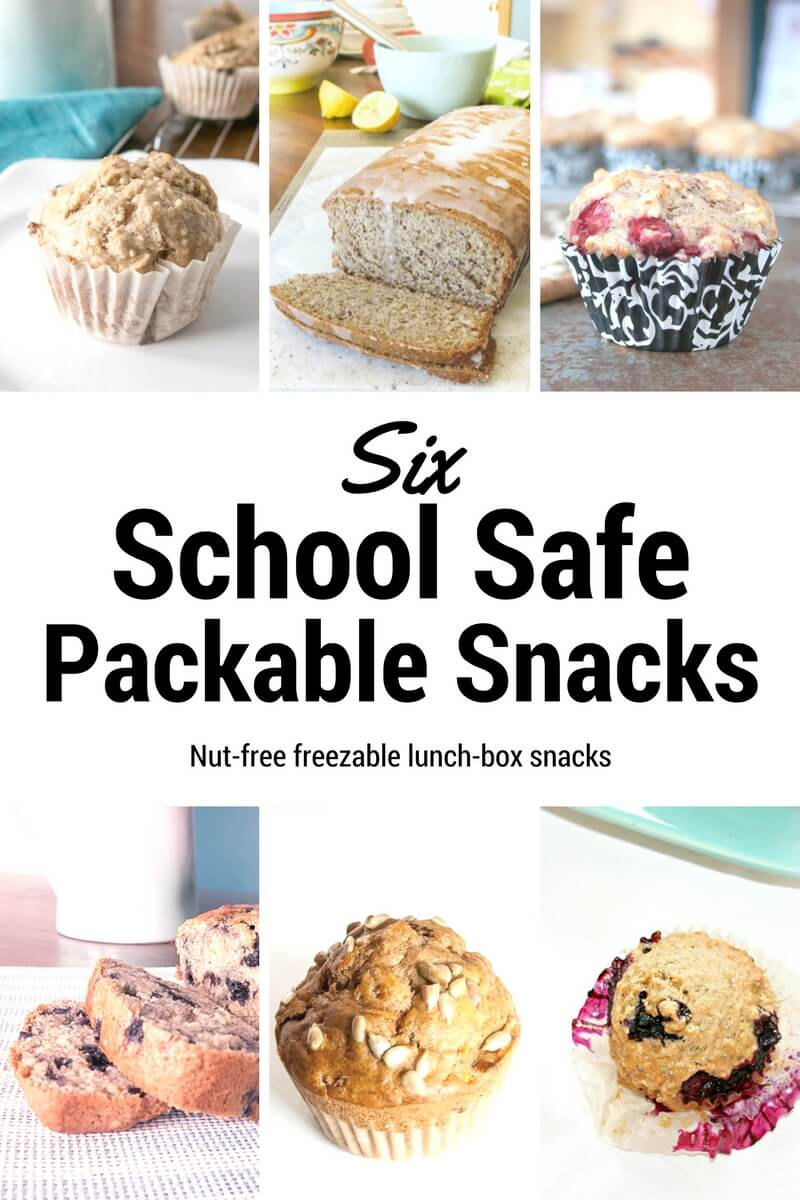 School Safe Snacks for the Kid's Lunchbox vegan school schoo-safe nut-free Muffins lunch box lunch