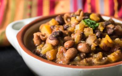 Vegan Butternut Chili. A Slow-cooker Recipe