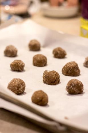 Ginger Molasses Cookies | infinebalance.com #recipe