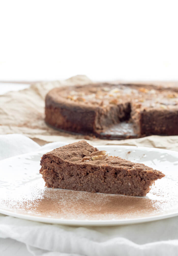 Ground Almond Gluten Free Chocolate Cake