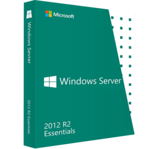 Windows Server 2012 R2 Essentials MFR # G3S-00761 Con 10 Cals Remote Desktop Users (Combo)
