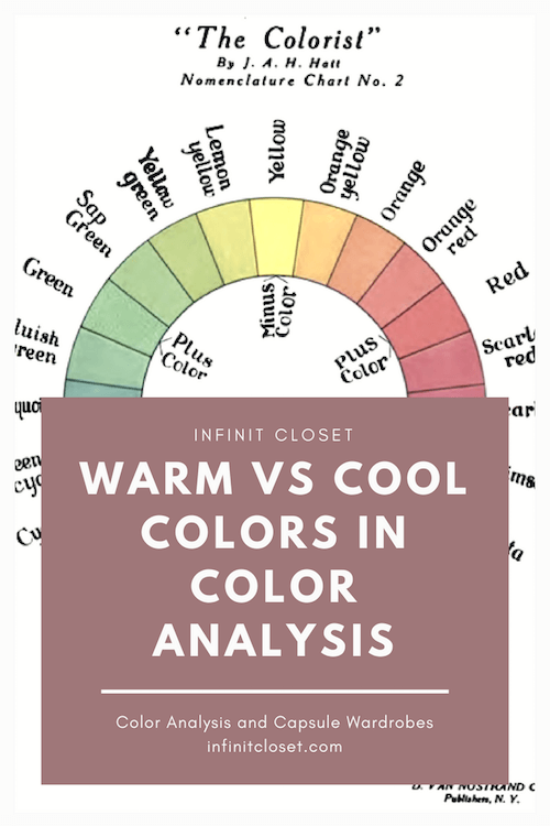 warm vs cool colors in seasonal color analysis infinite closet. Black Bedroom Furniture Sets. Home Design Ideas