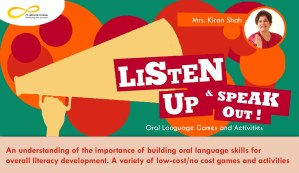 Listen up and Speak Out! -Oral Language Games and Activities