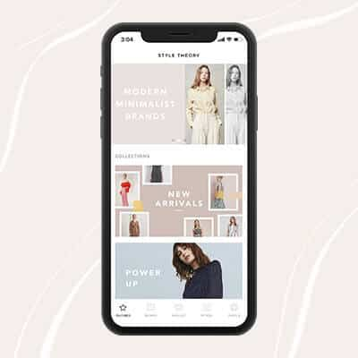 Style Theory App: Rent On-The-Go